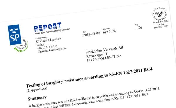 FerraPod Certifikat